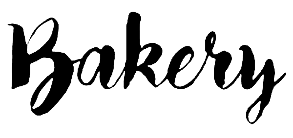 Bakery font