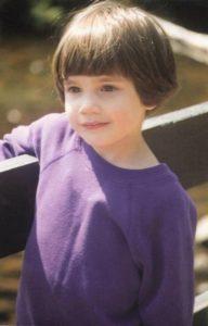 baby photo of Danielle