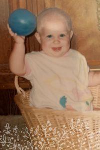 Anna Eastman's baby photo